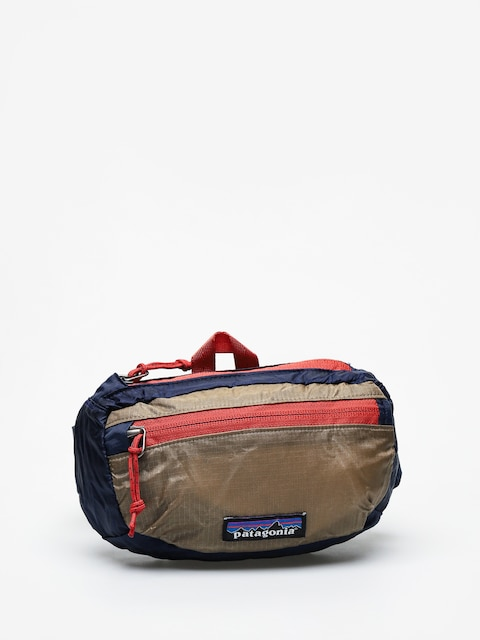 Patagonia Lw Travel Mini Hip Pack Bum bag (classic navy w/mojave khaki)
