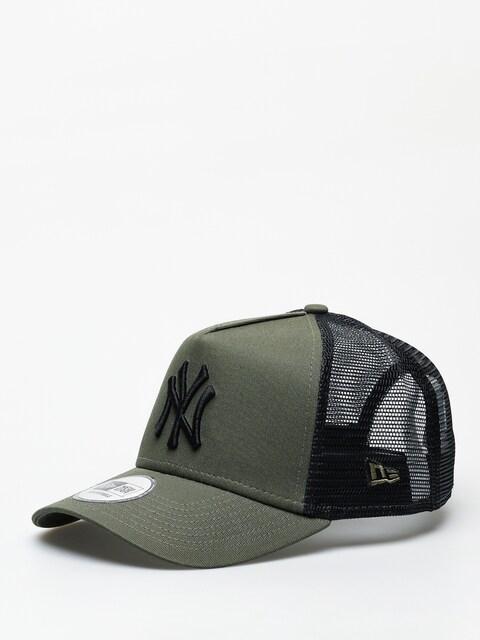 New Era League Essential Trucker New York Yankees ZD Cap (new olive/black)