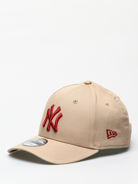 New Era 9Forty League Essential New York Yankees ZD Cap (camel/hot red)