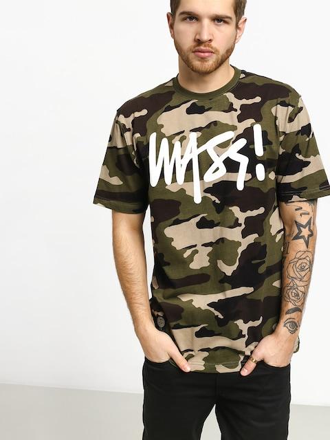MassDnm T-shirt Signature (woodland camo)