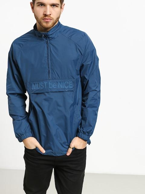 RipNDip Jacket Must Be Nice Half Zip Anorak (blue)