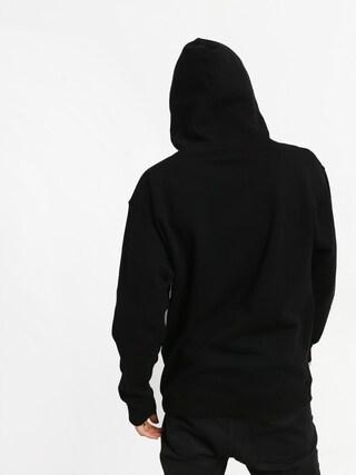 Real Deeds Outline HD Hoodie (black/white)