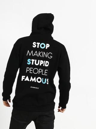 Diamante Wear Stupid People HD Hoodie (black)