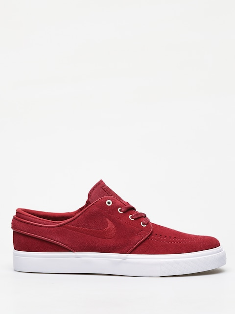 Nike SB Zoom Stefan Janoski Shoes (team crimson/team crimson white)