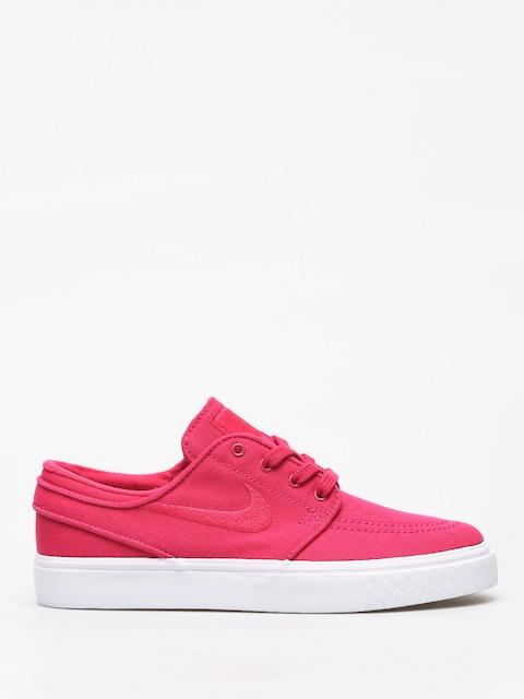 Nike SB Stefan Janoski Canvas Shoes (rush pink/rush pink gum yellow)