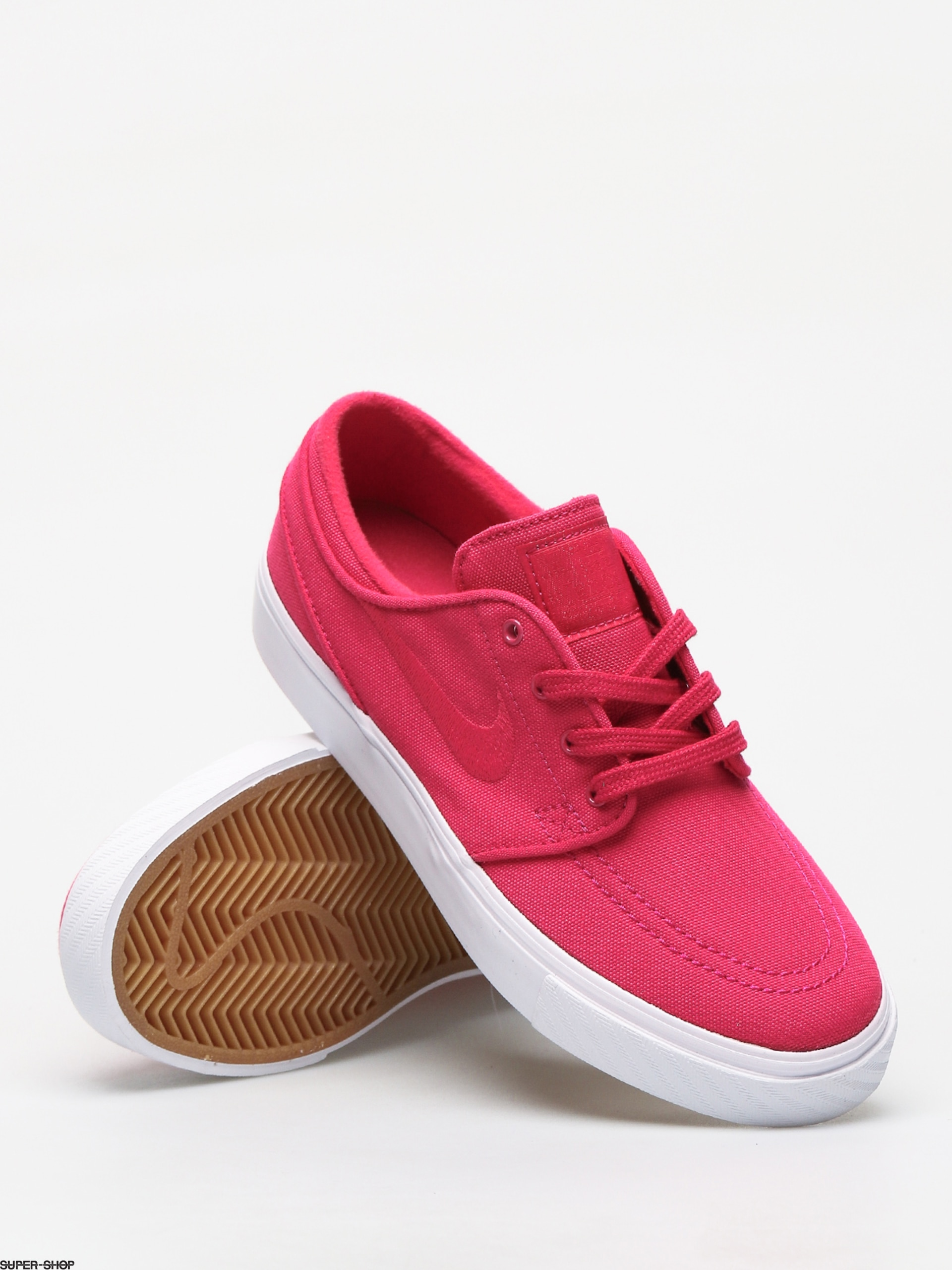 Nike SB Stefan Janoski Canvas Shoes (rush pink rush pink gum yellow) 0deac21a0