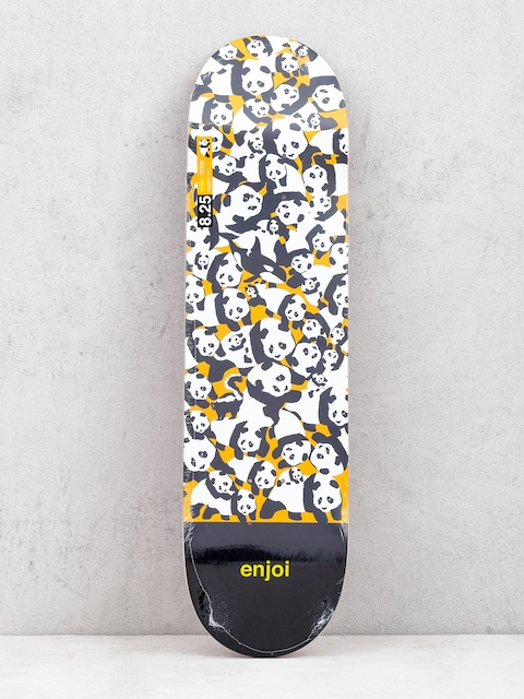 Enjoi Panda Pile Up Deck (orange)
