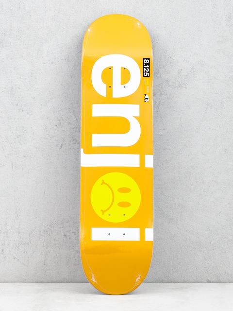 Enjoi Frowny Face Deck (orange)