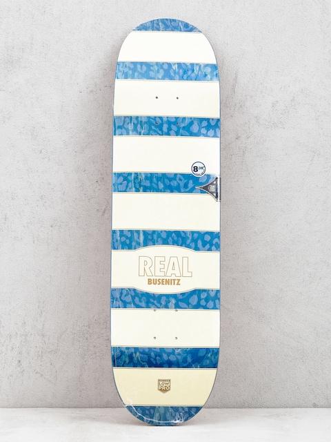 Real Busenitz Cheetah Deck (beige/navy)