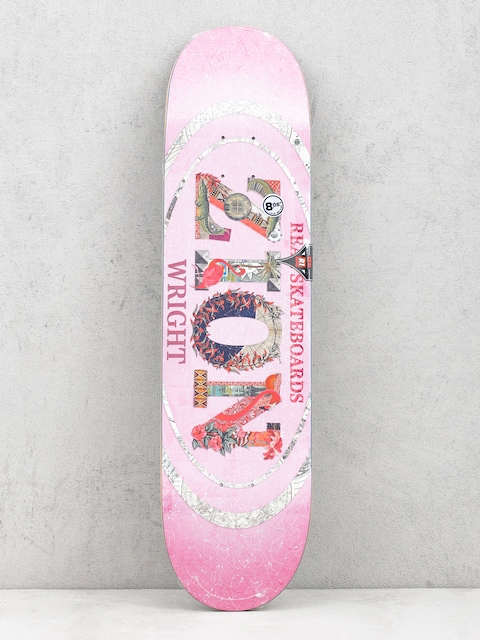 Real Zion C And P Oval Deck (pink)