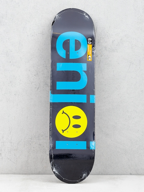 Enjoi Frowny Face Deck (black)