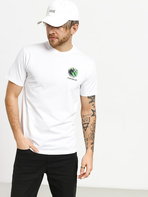 Nervous Profile T-shirt (white)