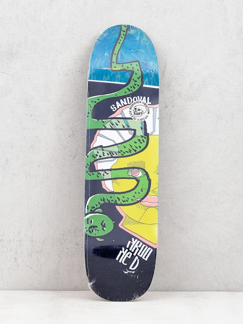 Krooked Ronnie Snakehead Deck (green)