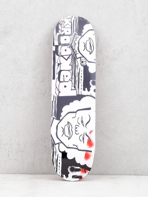 Krooked Ronnie Stern Deck (white/black)