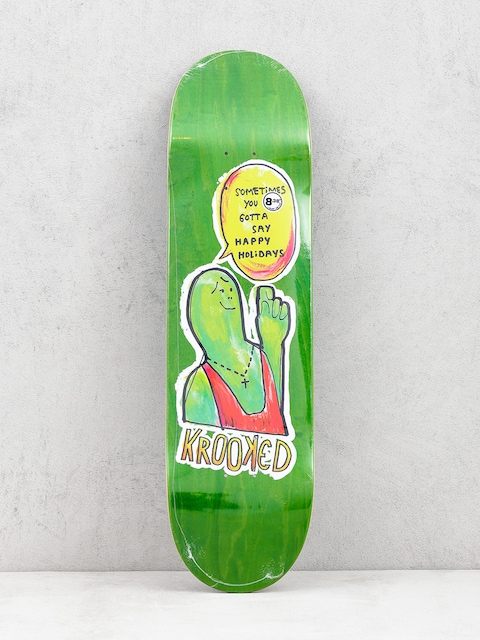 Krooked Sometimes Holiday Deck (green)