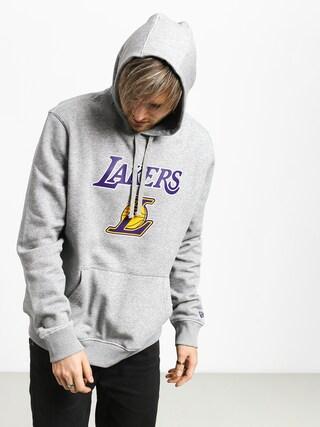 New Era Top 6 Los Angeles Lakers HD Hoodie (heather gray)