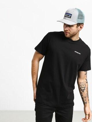 Patagonia Logo Organic T-shirt (black)