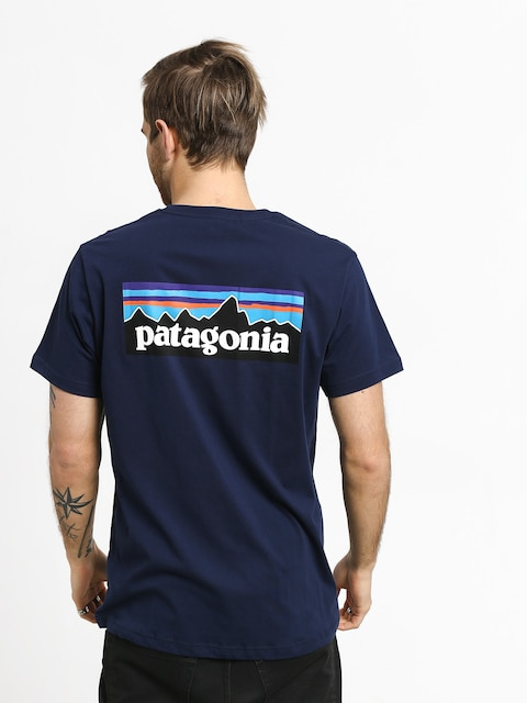 Patagonia Logo Organic T-shirt (classic navy)