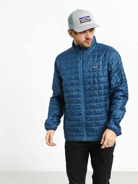 Patagonia Nano Puff Jacket (big sur blue w/balkan blue)
