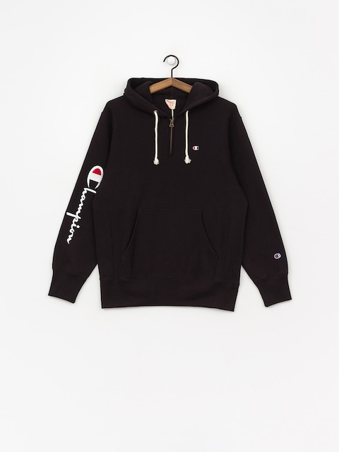 Champion Hooded Half Zip Sweatshirt ZHD Hoodie (nbk)