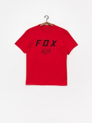 Fox Legacy Moth T-shirt (drk rd)
