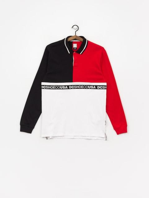 DC Walkley Ls Polo t-shirt (black)