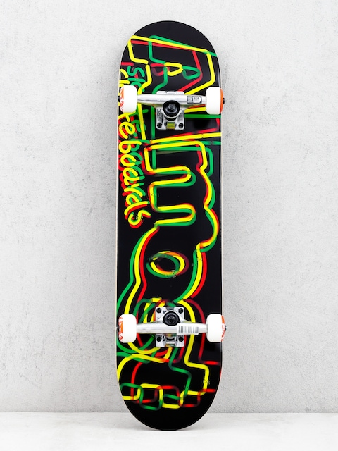 Almost Neon Fp Skateboard (rasta)