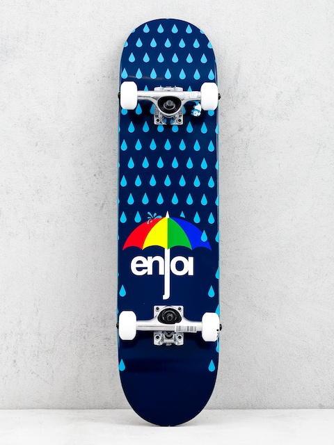 Enjoi Raining Panda Resin Skateboard (dark blue/blue)