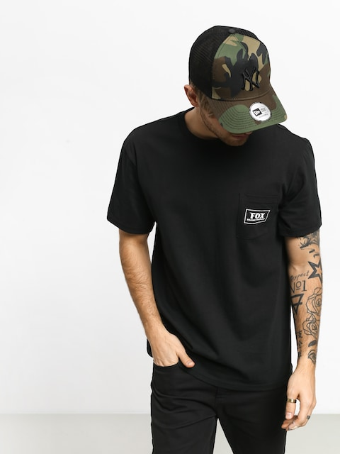 Fox Heater Pocket T-shirt (blk)