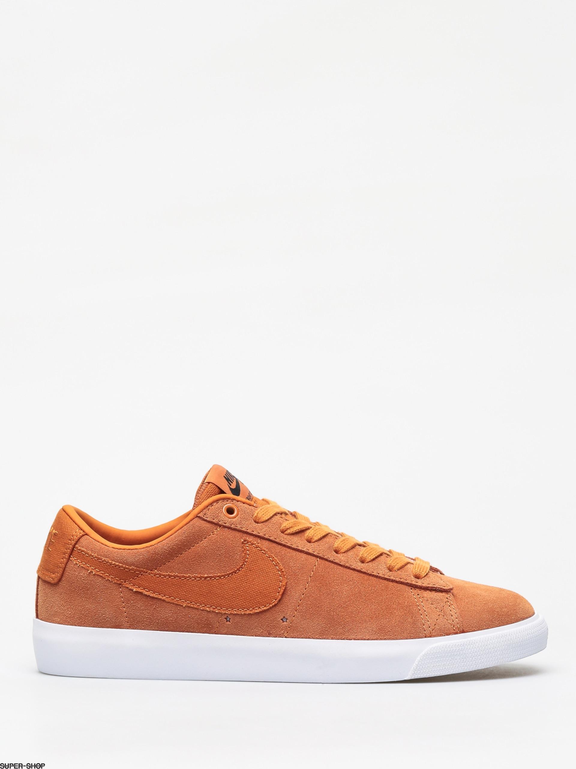 90a40a91b3 Nike SB Blazer Low Gt Shoes (cinder orange cinder orange obsidian)
