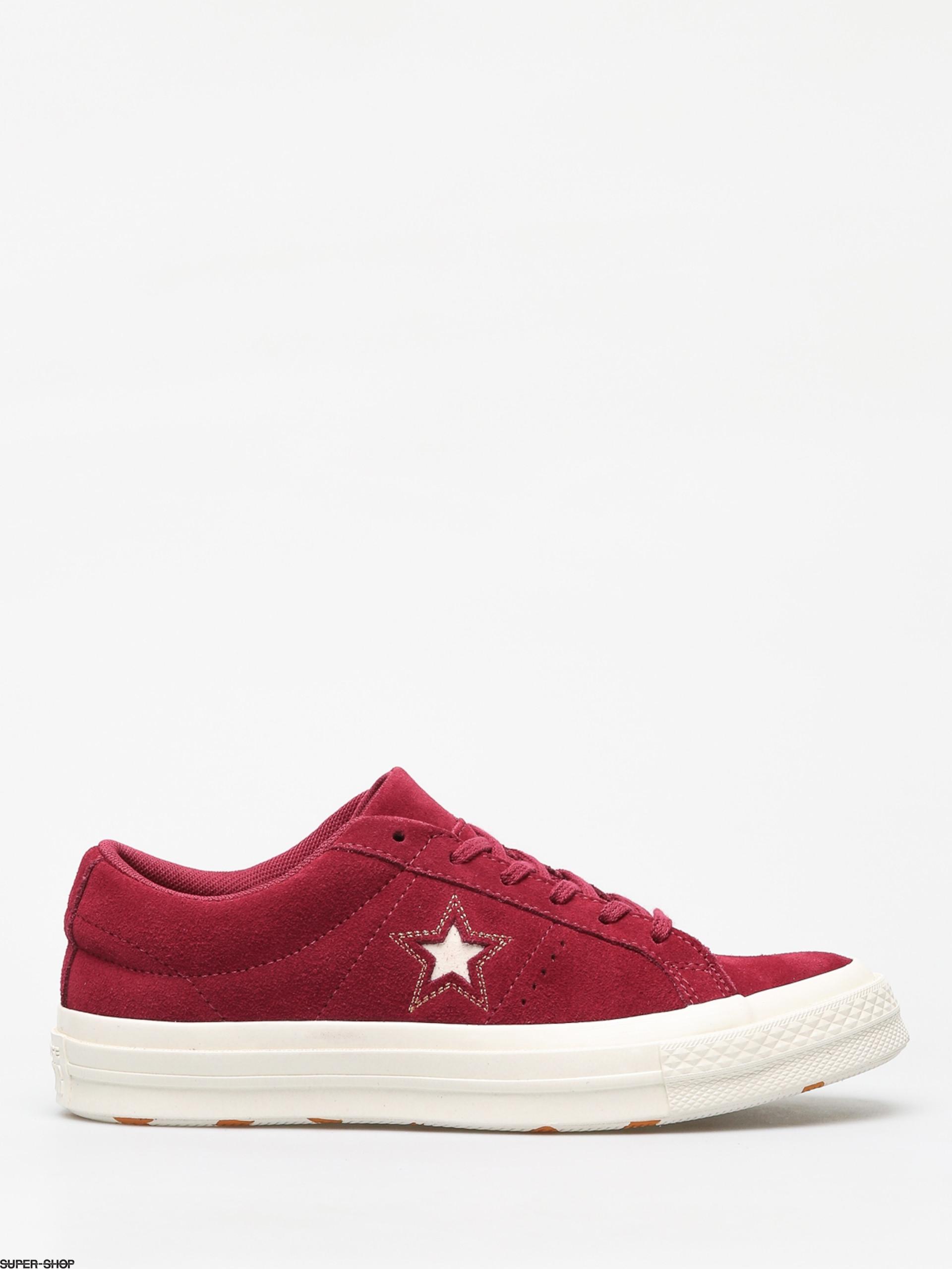 reasonably priced hot product designer fashion Converse One Star Ox Chucks (rhubarb/field orange/egret)