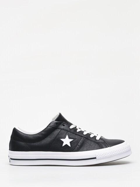 Converse One Star Ox Chucks (black/white/white)
