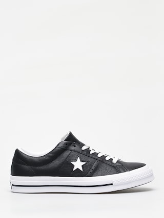 Converse One Star Ox Chucks (black/white/white)