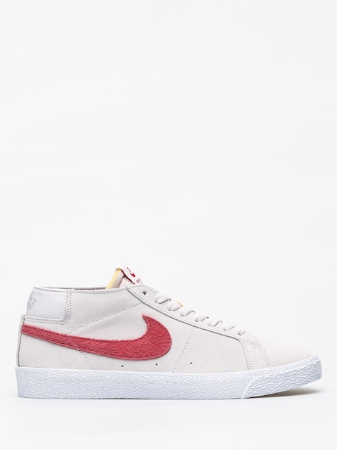 Nike SB Zoom Blazer Chukka Shoes (vast grey/team crimson)