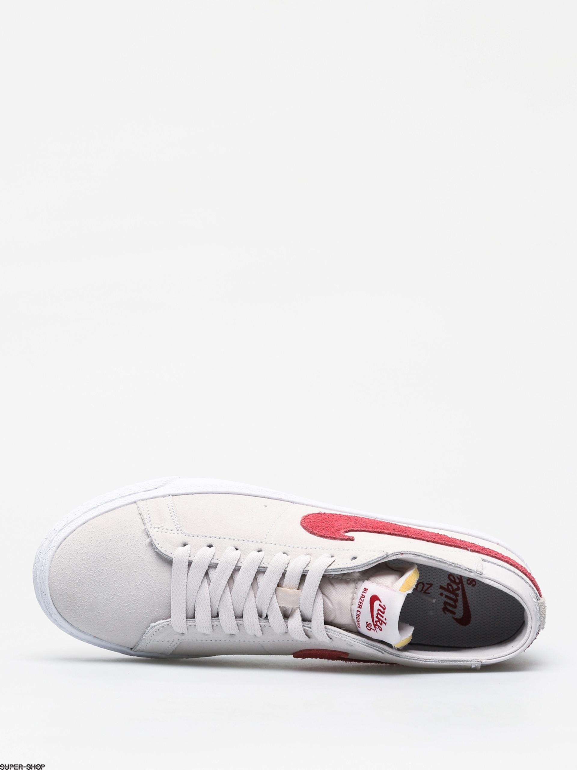090a42e2cf5f Nike SB Zoom Blazer Chukka Shoes (vast grey team crimson)