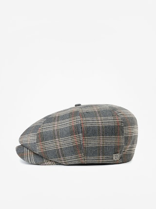 Brixton Brood Snap ZD Flat cap (grey/tan plaid)