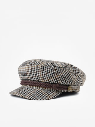 Brixton Fiddler ZD Flat cap (khaki/brown/cream)