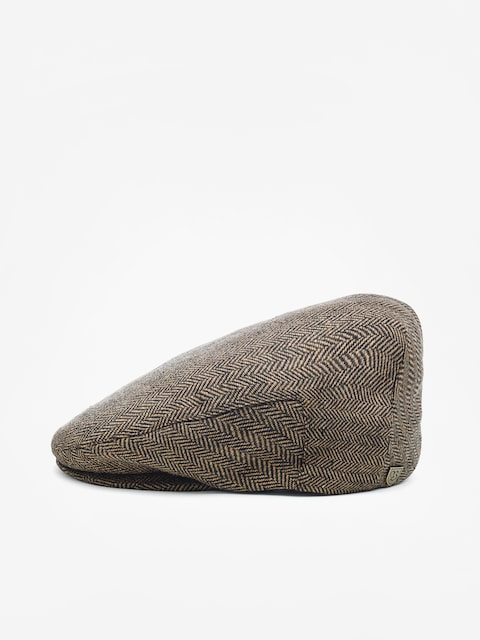 Brixton Hooligan Snap ZD Flat cap (brown/khaki)