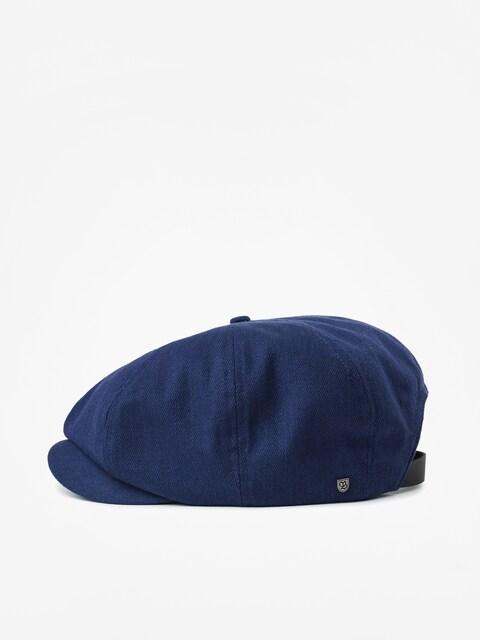 Brixton Brood Adj Snap ZD Flat cap (washed navy)