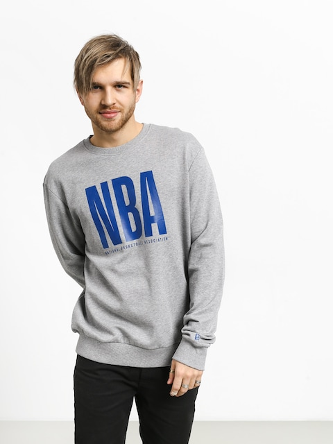 New Era Nba Logo Crew Sweatshirt