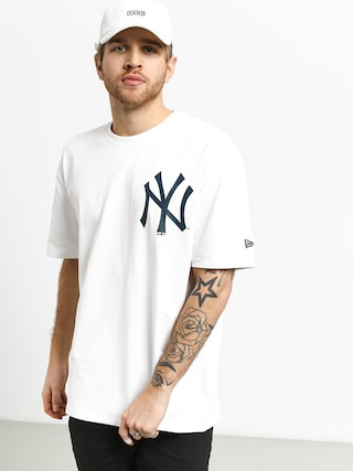 New Era Oversized Logo New York Yankees T-shirt (white)