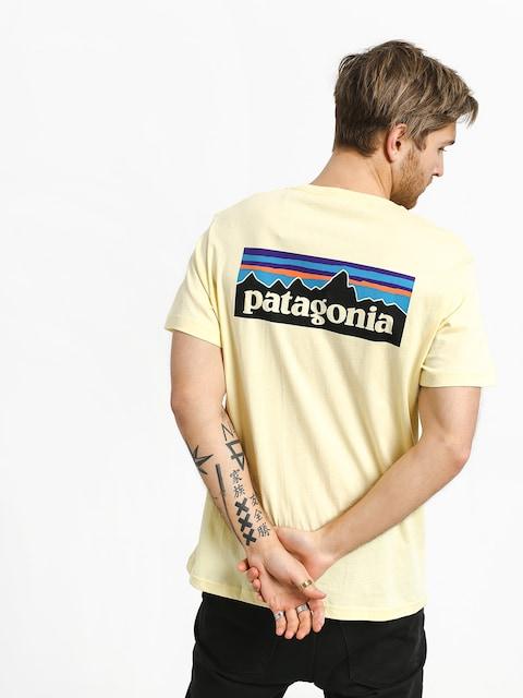 Patagonia Logo Organic T-shirt (resin yellow)