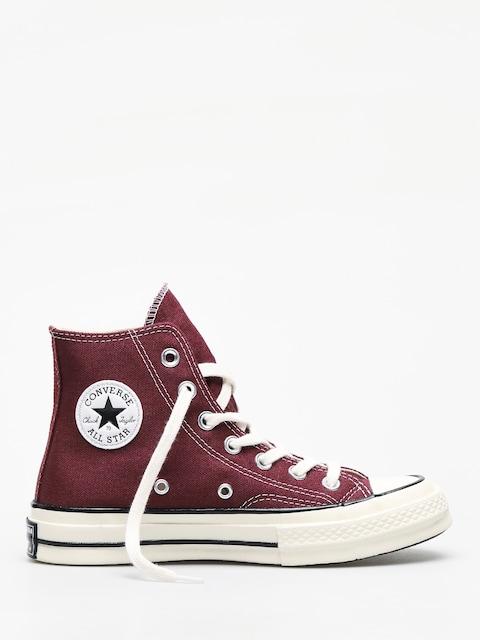 Converse Chuck 70 Hi Chucks (dark burgundy/blac)