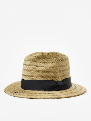 Brixton Rollins Fedora Hat (tan/black)