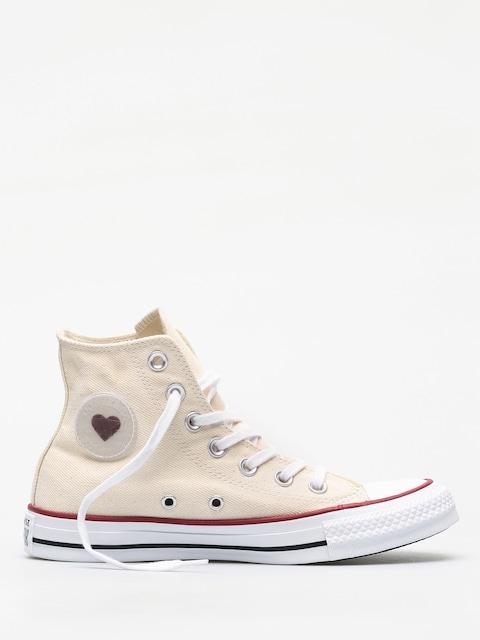 Converse Chuck Taylor All Star Hi Chucks (natural/white/garnet)