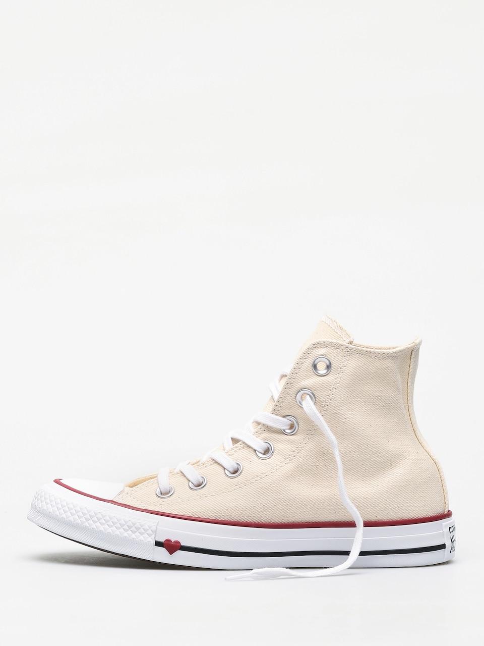 Star Hi Chucks (natural/white/garnet