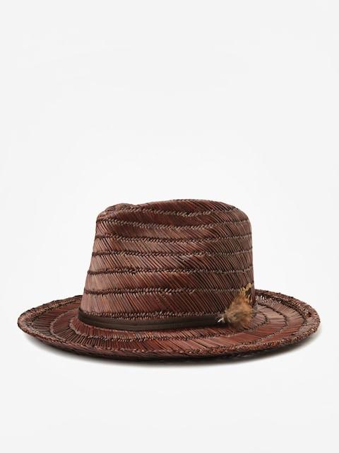 Brixton Crosby II Fedora Hat (brown/brown)