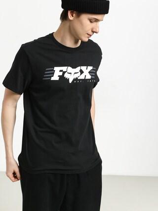 Fox Muffler T-shirt (blk)