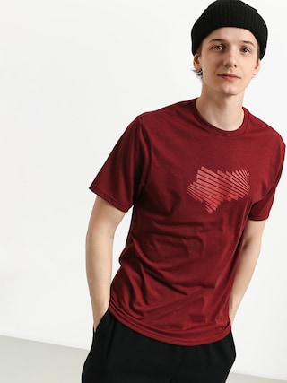 Fox Clash Tech T-shirt (htr rd)