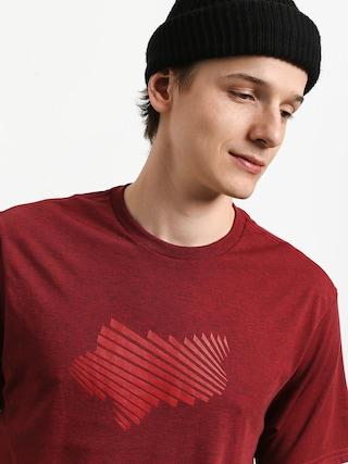 Fox Clash Tech T-shirt (htr rd)